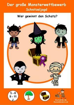 Raetseldetektive.de - Der große Monsterwettbewerb - Cover