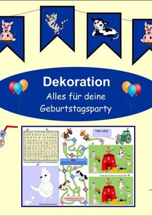 Dekoration für deine Party
