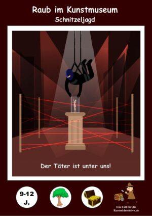 Detektiv Schnitzeljagd: Raub im Kunstmuseum 9-12 Jahre