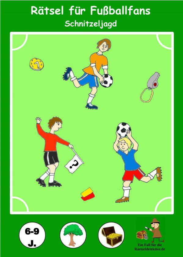 Raetseldetektive.de - Cover Fußball Schnitzeljagd