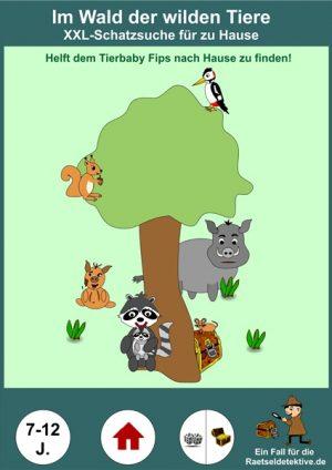 Schatzsuche XXL: Tiere im Wald – Ab 7 Jahre