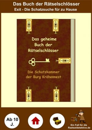 Exit – Die Schatzsuche: Das geheime Buch der Rätselschlösser – Ab 10 Jahre