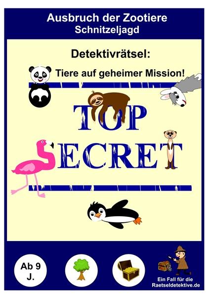 Rätsel Tiere Detektiv