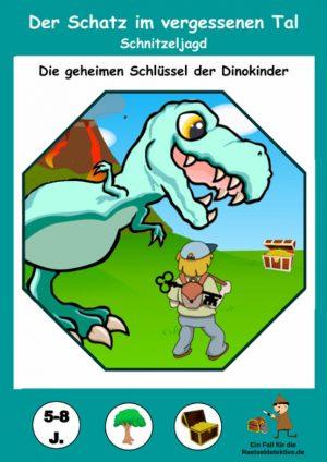 Dinosaurier Schnitzeljagd: Der Schatz im vergessenen Tal 5-8 Jahre