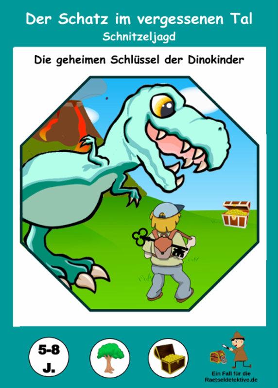 Raetseldetektive.de - Cover Dinosaurier Schnitzeljagd