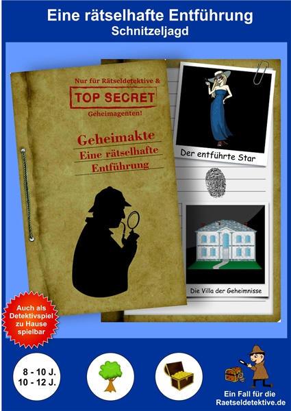 Rätsel Schnitzeljagd Detektiv