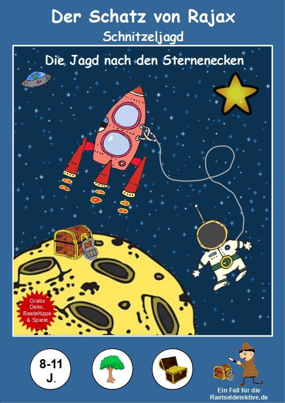 Raetseldetektive.de Weltraum Astronauten Kindergeburtstag Schnitzeljagd Schatzsuche