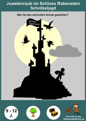 Schnitzeljagd: Der Dieb im Schloss 9-12 Jahre