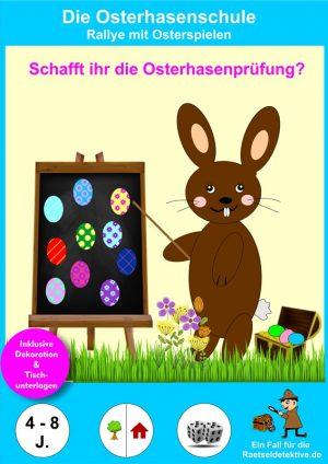 Oster-Rallye: Die Osterhasenschule