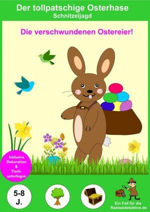 Oster-Schnitzeljagd: Der tollpatschige Osterhase
