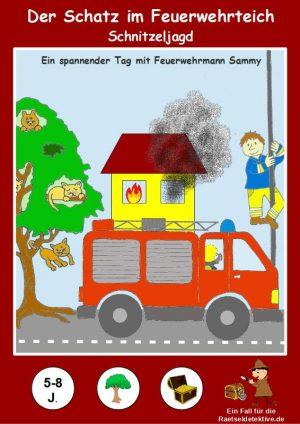 Schnitzeljagd: Der Schatz im Feuerwehrteich – 5-8 Jahre