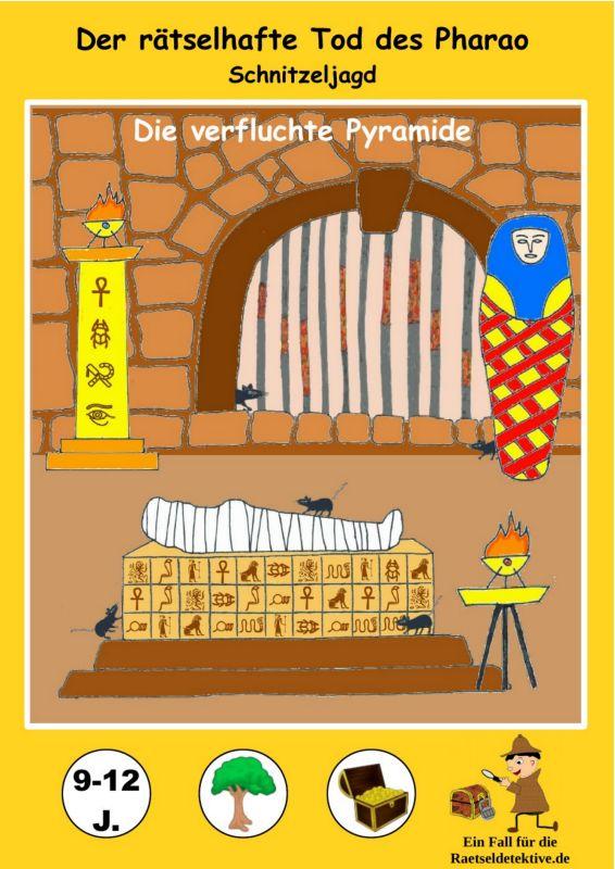 Raetseldetektive.de Titelbild Der rätselhafte Tod des Pharao